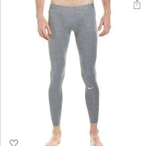 Nike Pro Heather Tights Cool Grey Training M